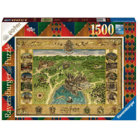 PUZZLE 1500 PZ MAPPA DI HOGWARTS 16599
