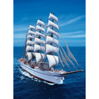PUZZLE 1000 PZ SAILING SHIP - HIGH QUALITY COLLECTION cod. 39061