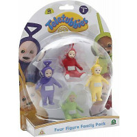 SET 4 PERS TELETUBBIES TLB05000