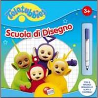 LIBRO SCUOLA DI DISEGNO TELETUBBIES 04011