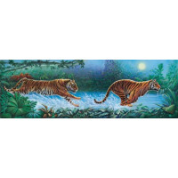 PUZZLE 1000 PZ TIGERS - HIGH QUALITY COLLECTION cod. 39028