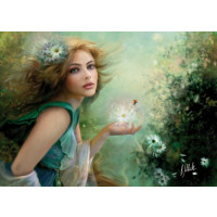 PUZZLE 1000 PZ HERALD OF SPRING - HIGH QUALITY COLLECTION CLEMENTONI cod. 39182