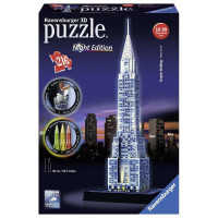 PUZZLE 3D CHRYSLER BUILDING NIGHT ED 12595
